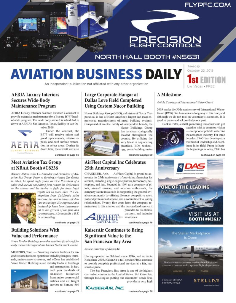 Aviation Business Daily 2019