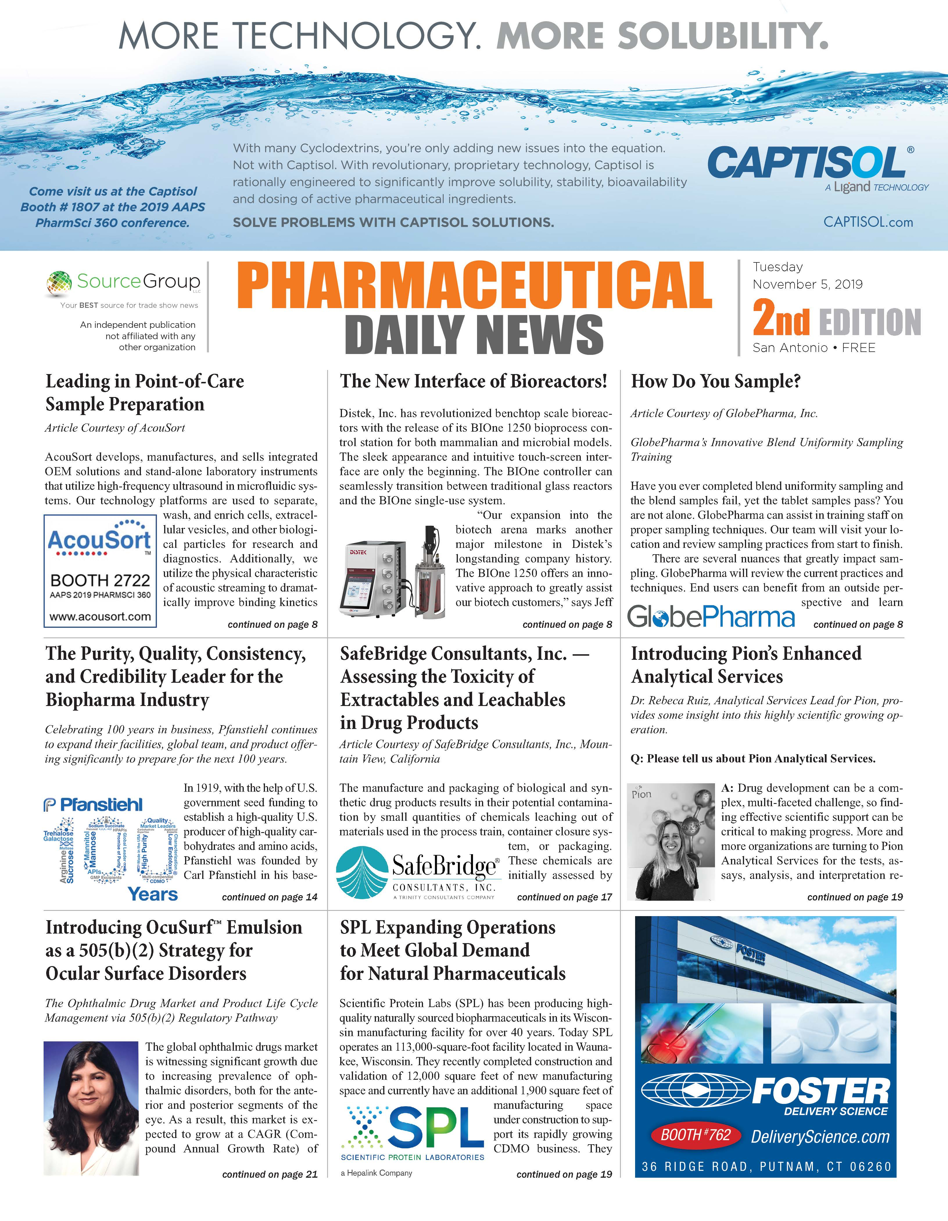 Pharmaceutical Daily News