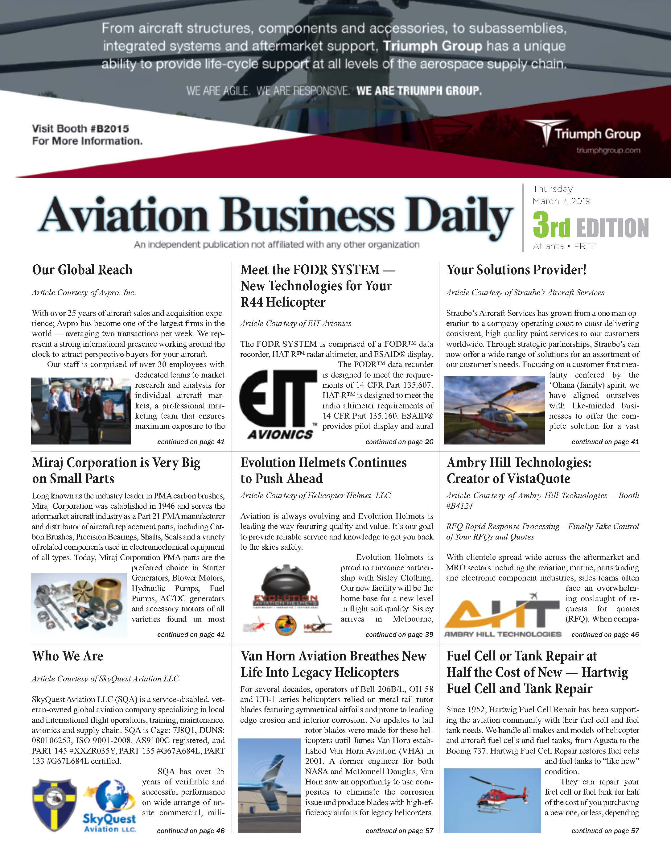 aviation Business Daily