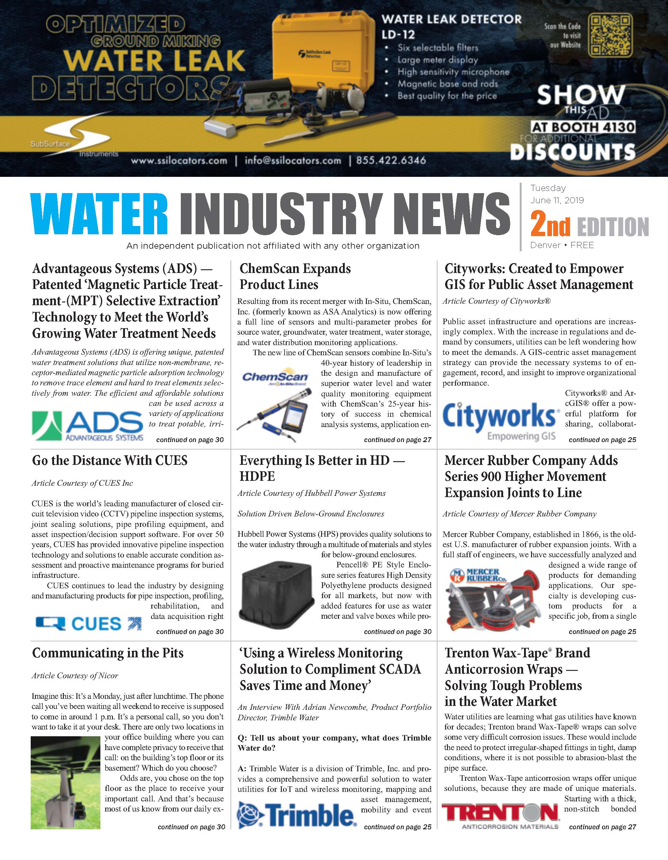 Water Industry News