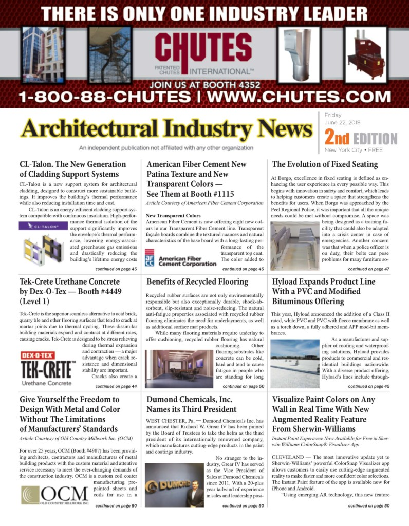 Architectural Industry News