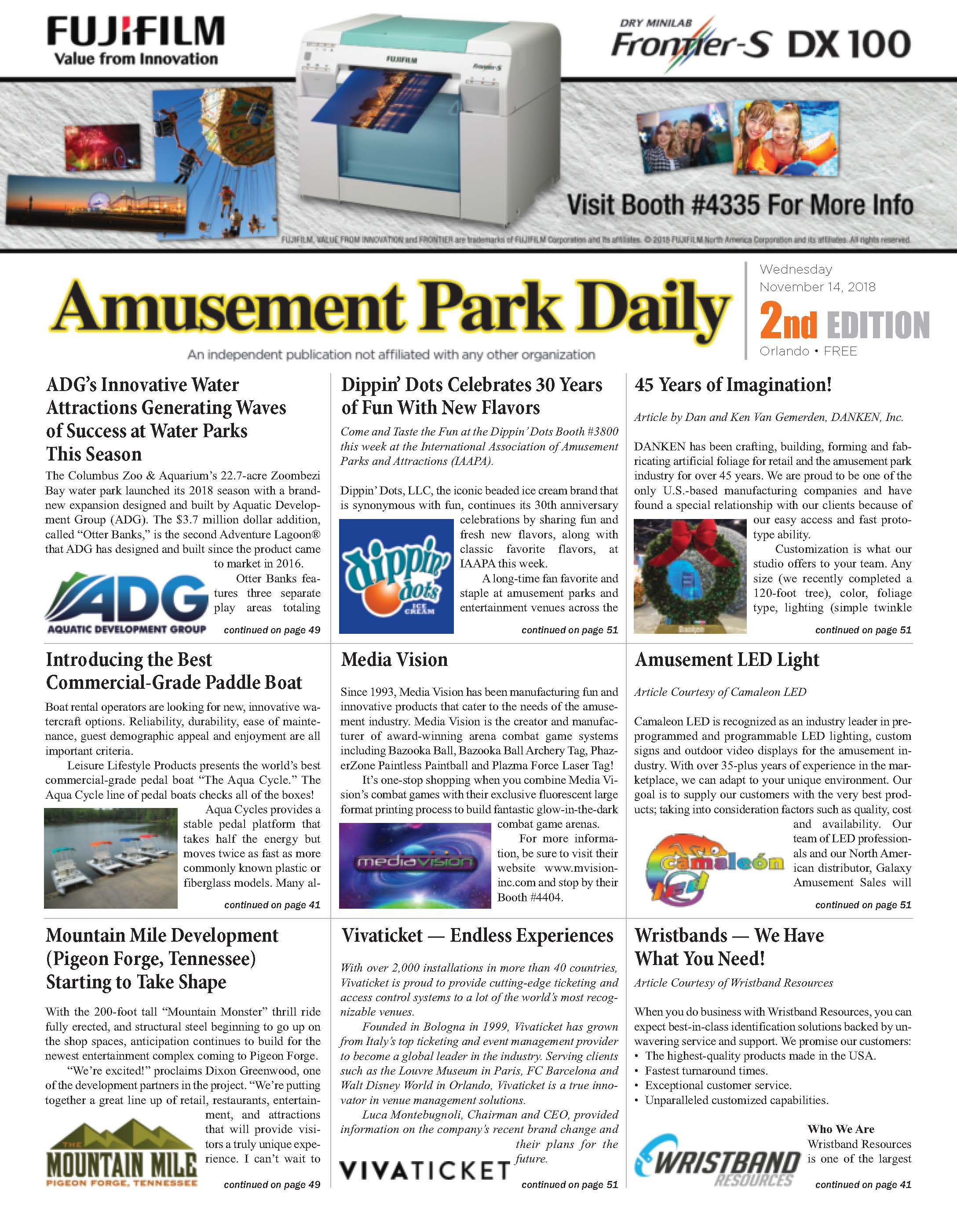 Amusement Park Daily