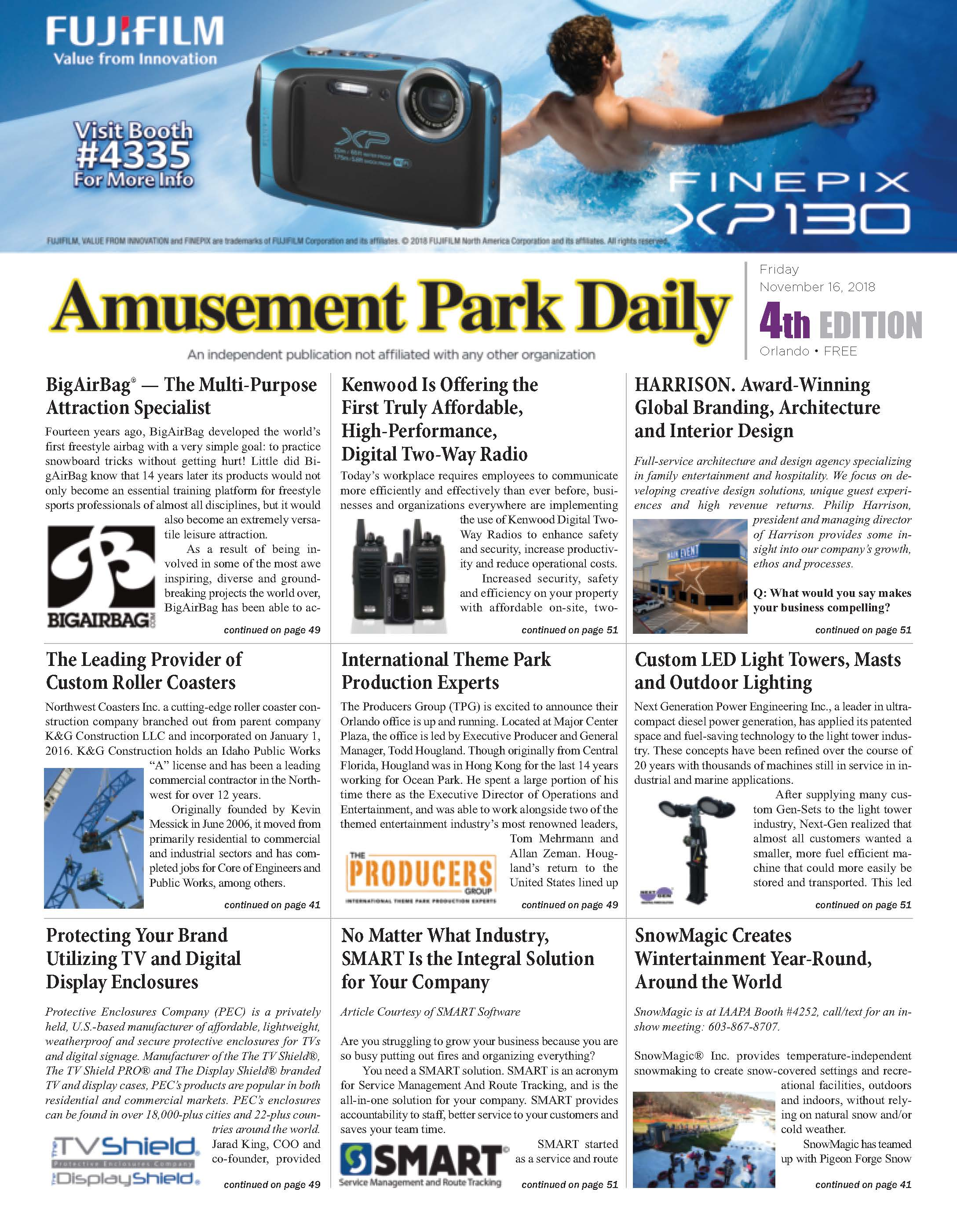 Amusement Park Daily 2019