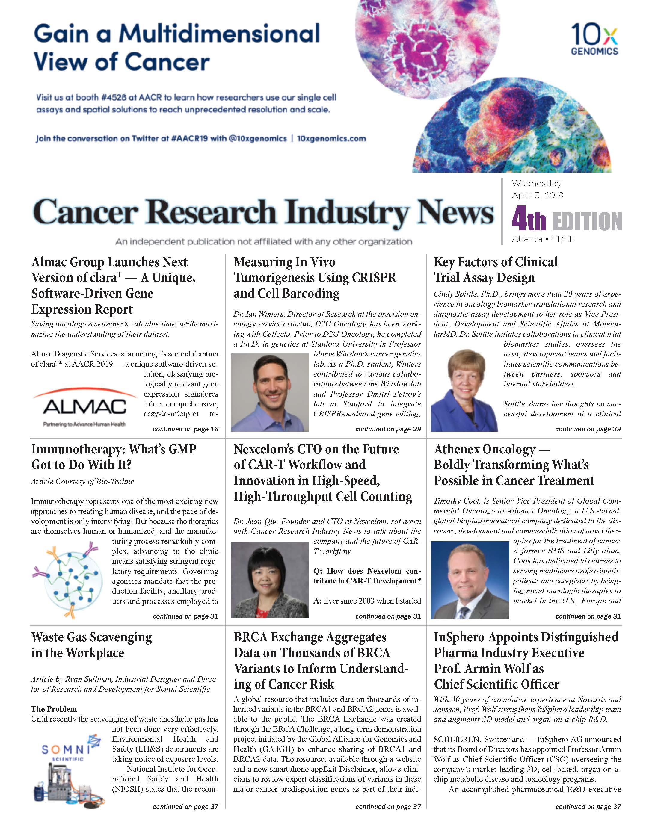 Cancer Research Industry news