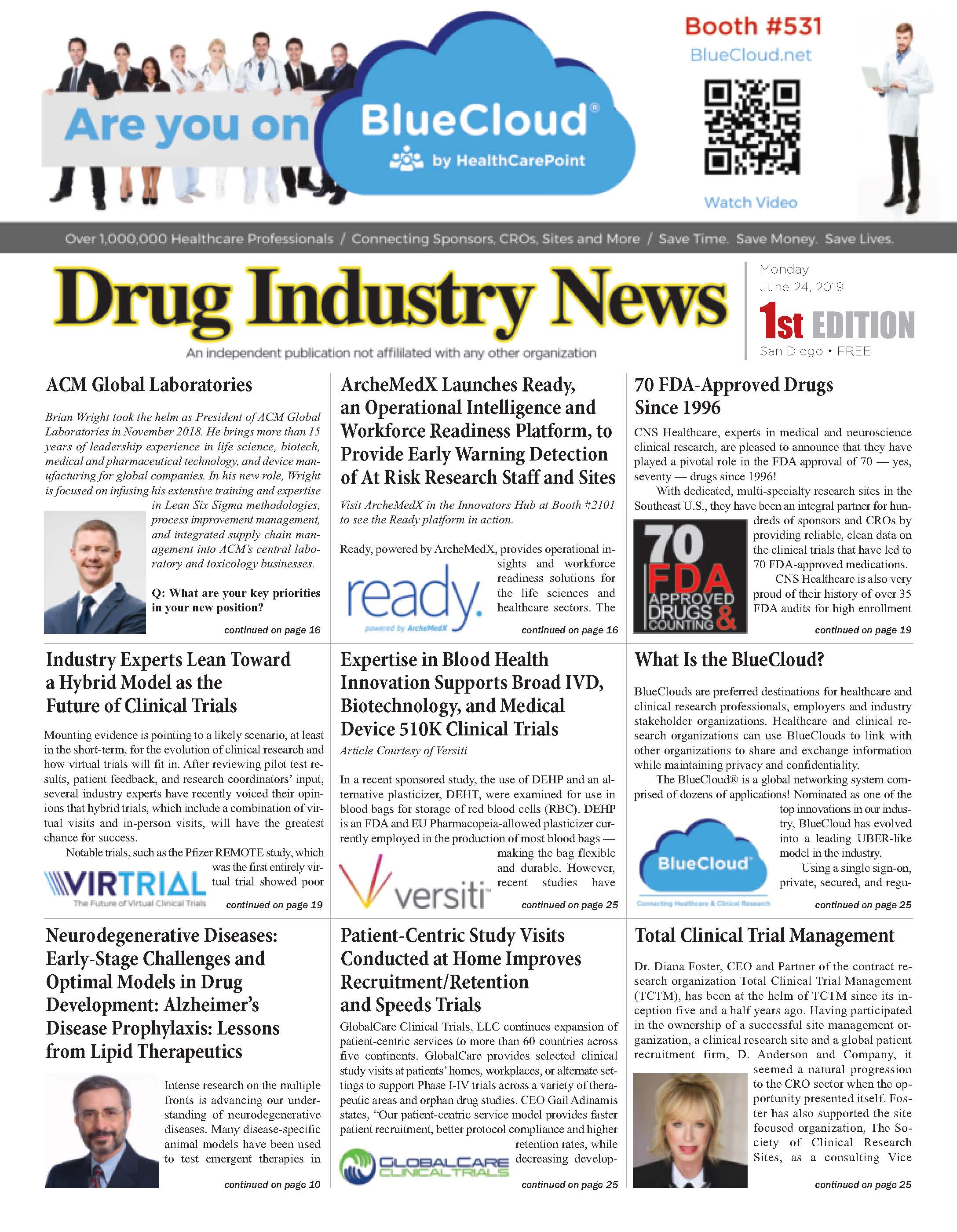 Drug Industry News