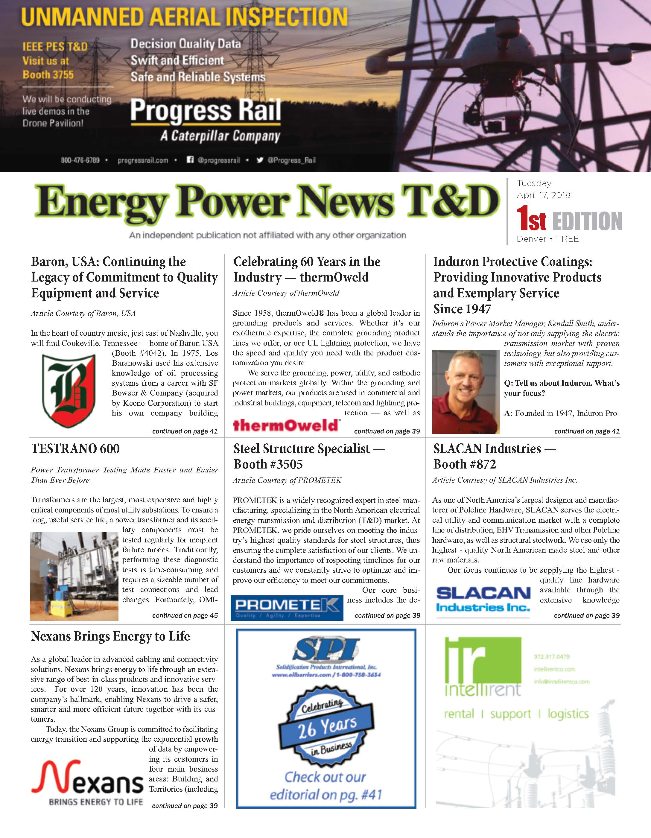 Energy Power News T&D