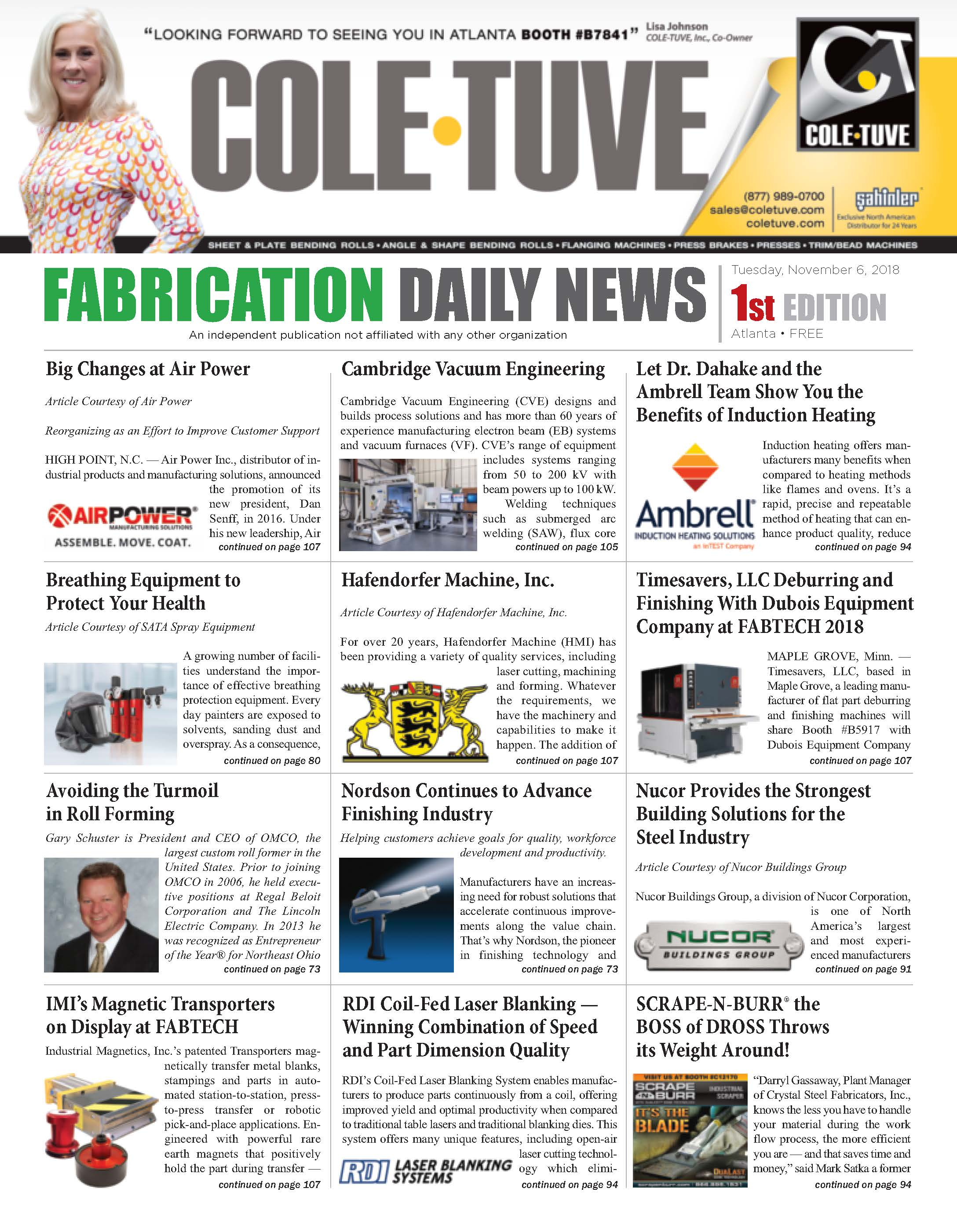 Fabrication Daily News