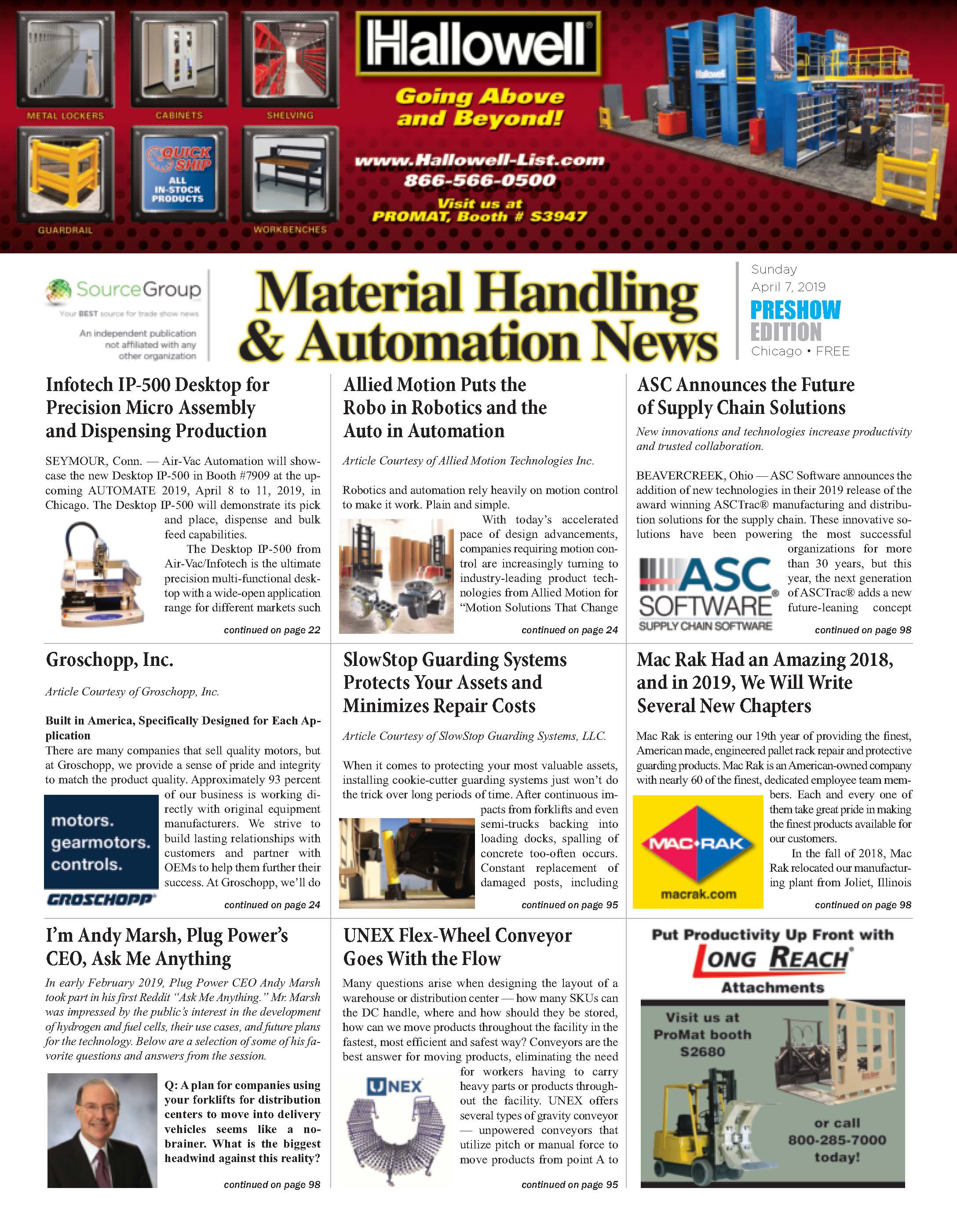 Material Handling and Automation News