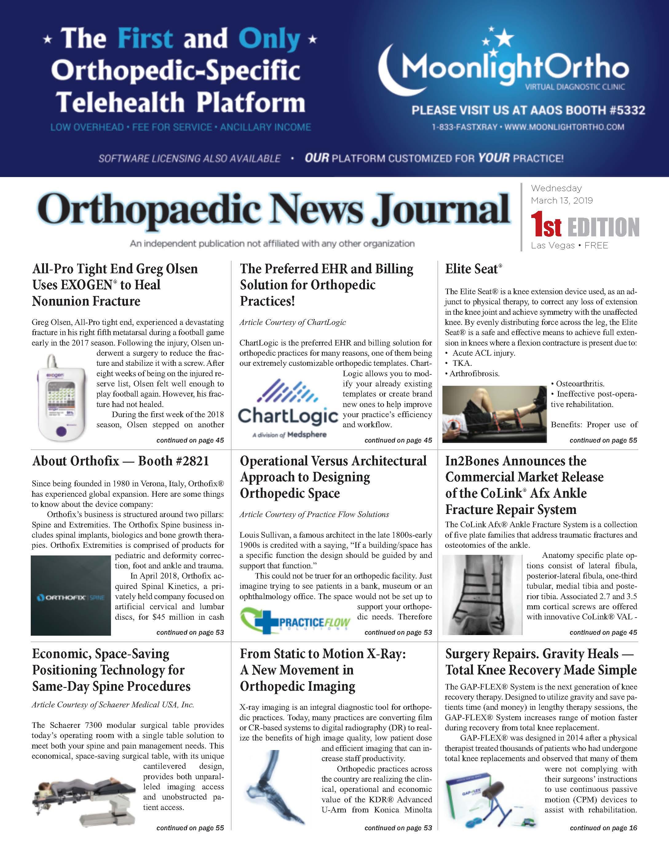 orthopaedic News Journal
