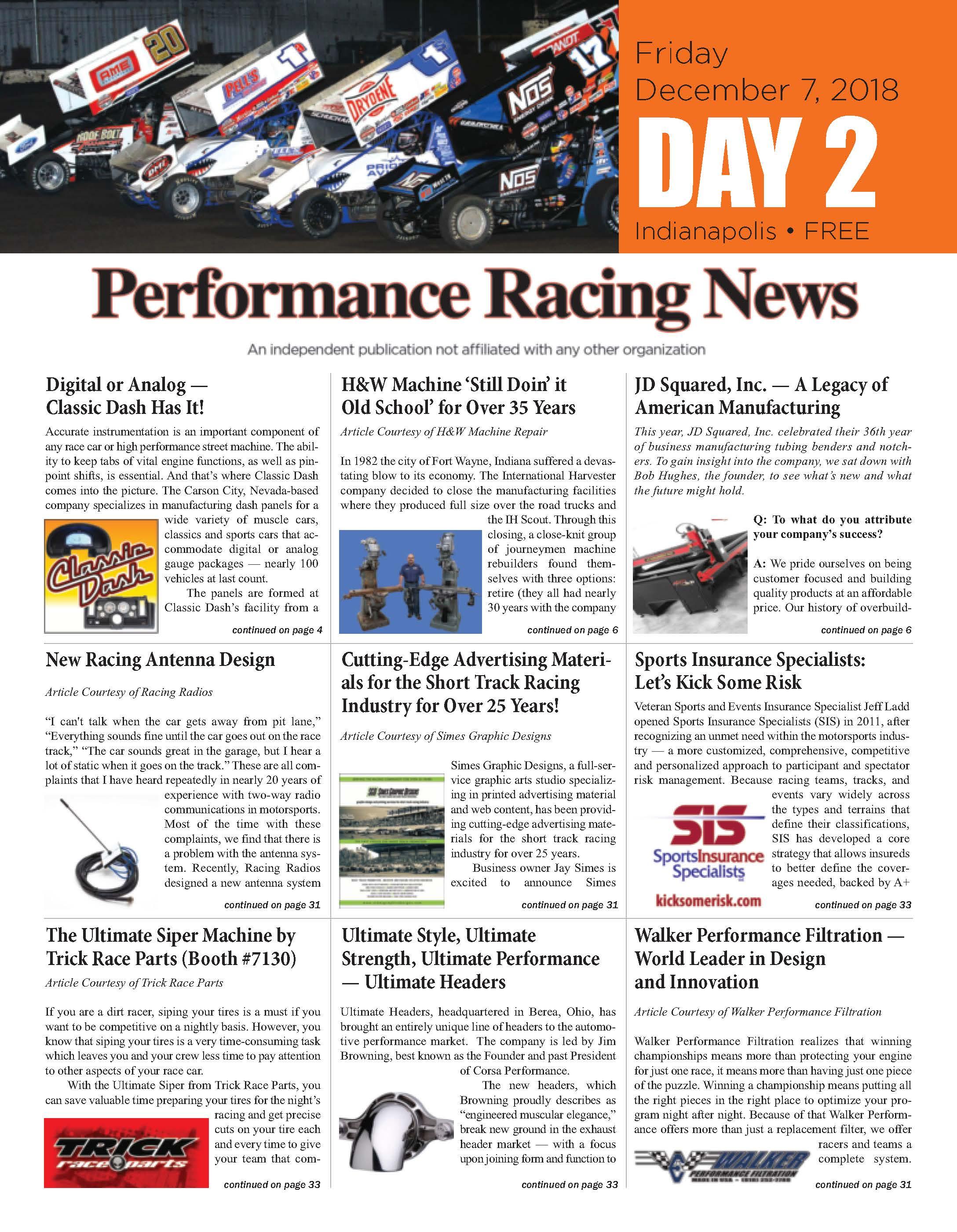 Performance Industry News