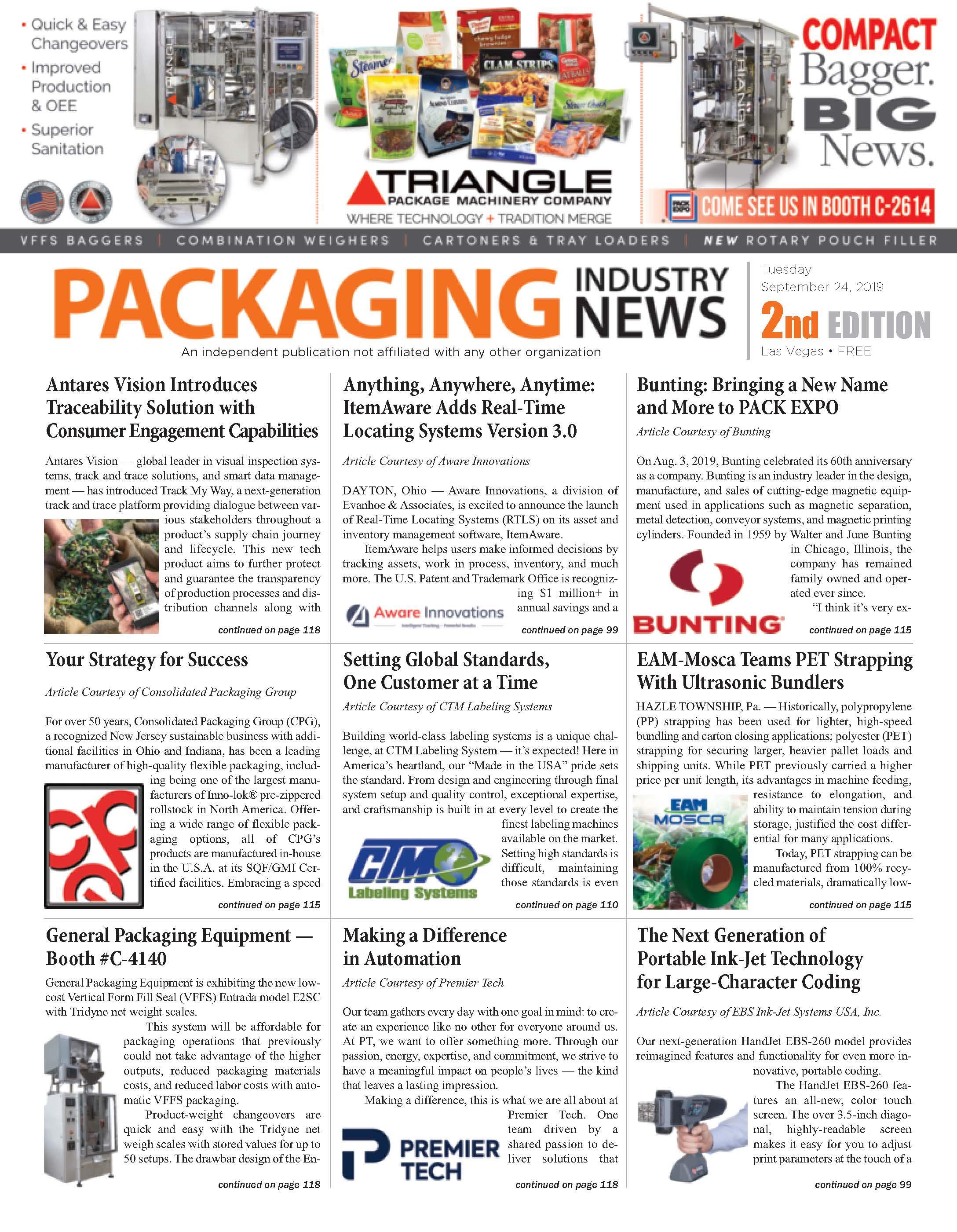 Packaging Industry News