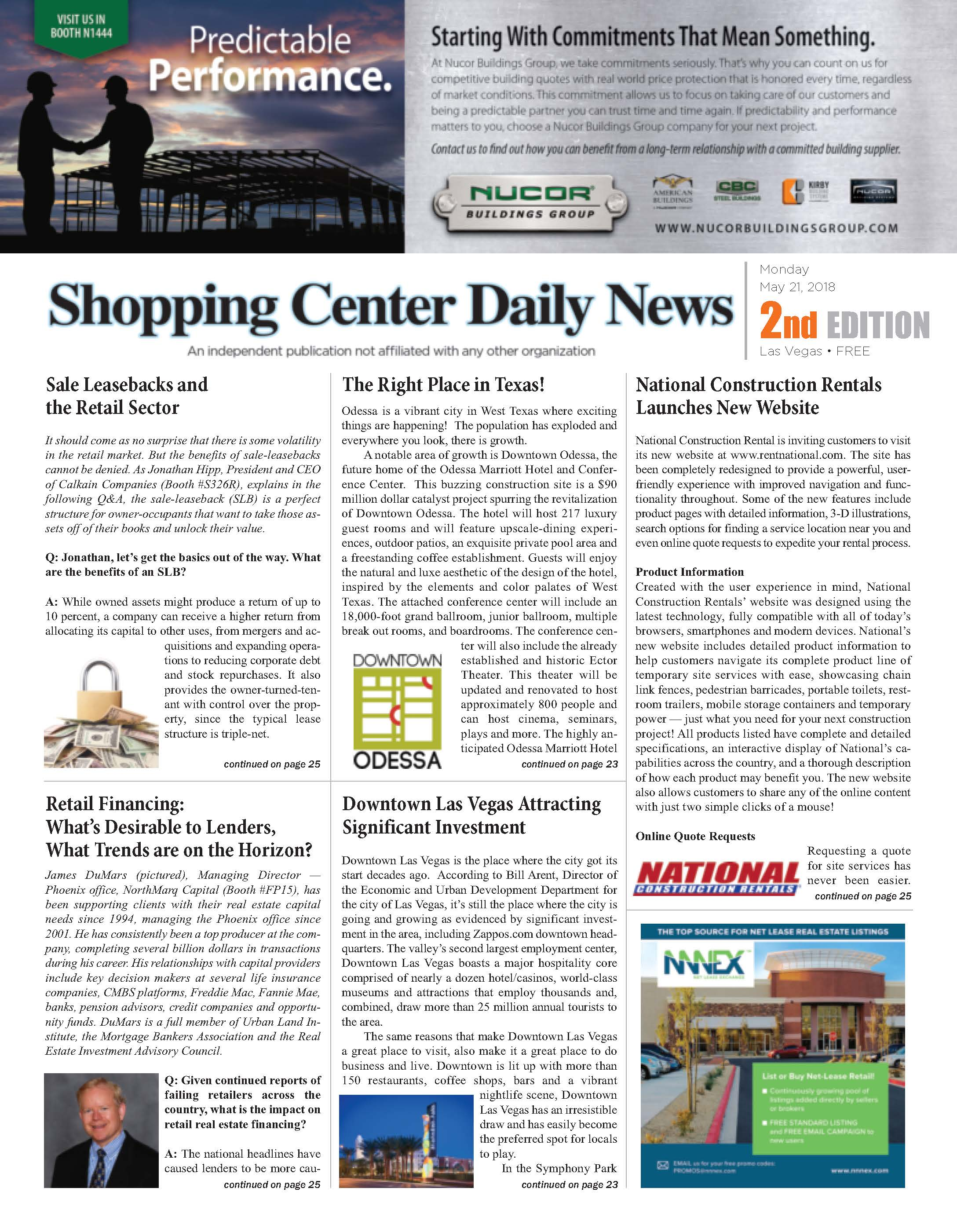 Shopping Center Daily News