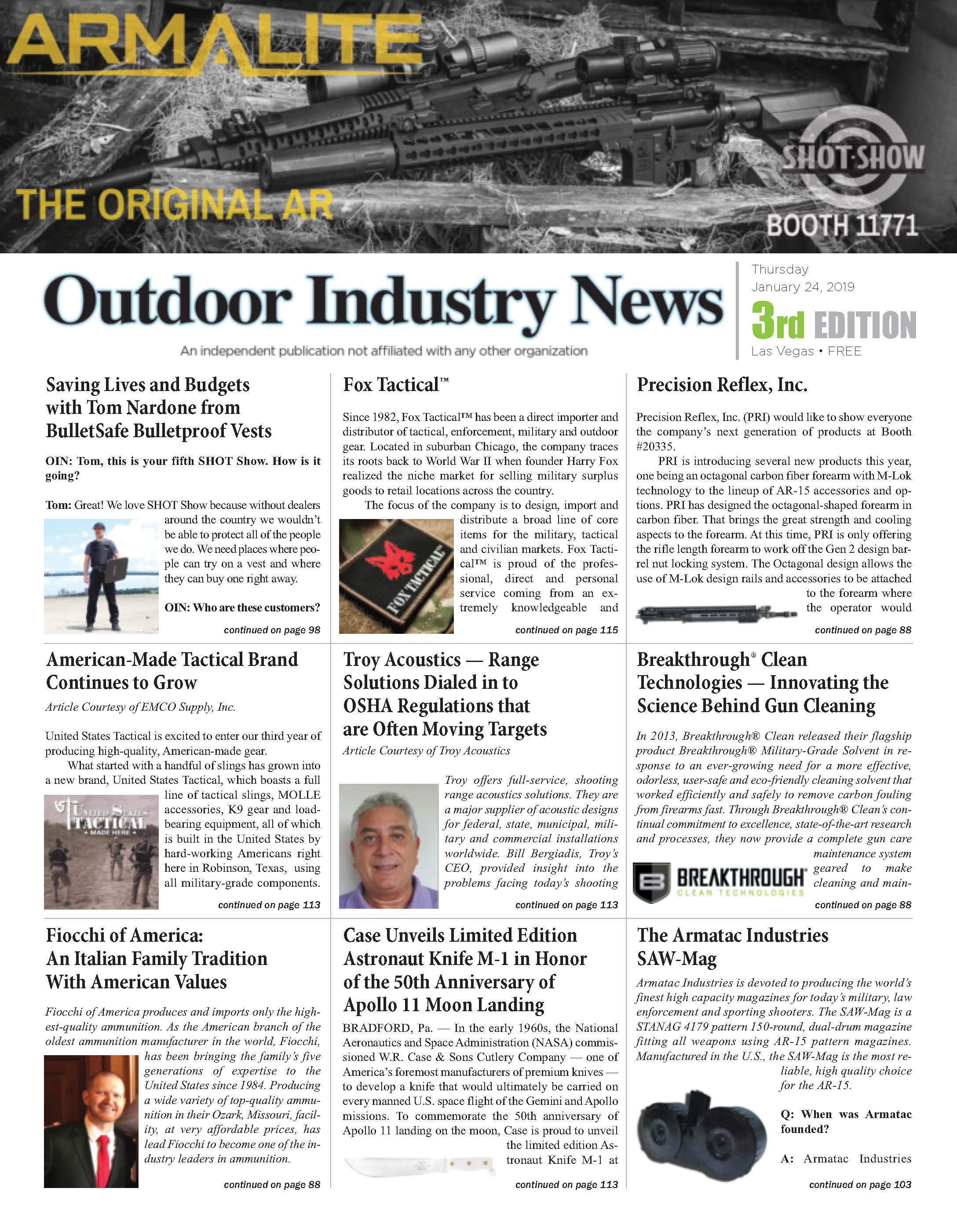 Outdoor Industry News