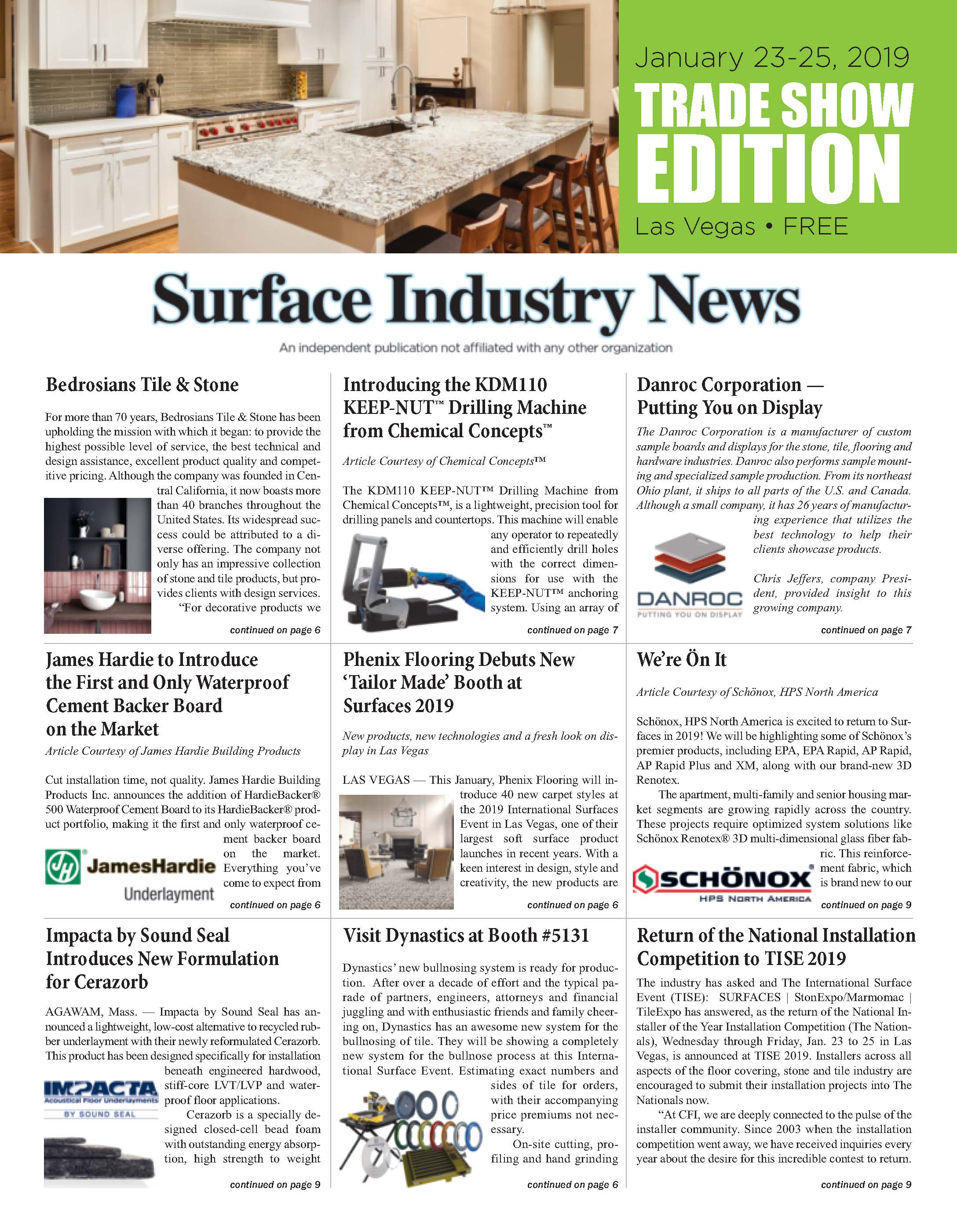 Surface Industry News