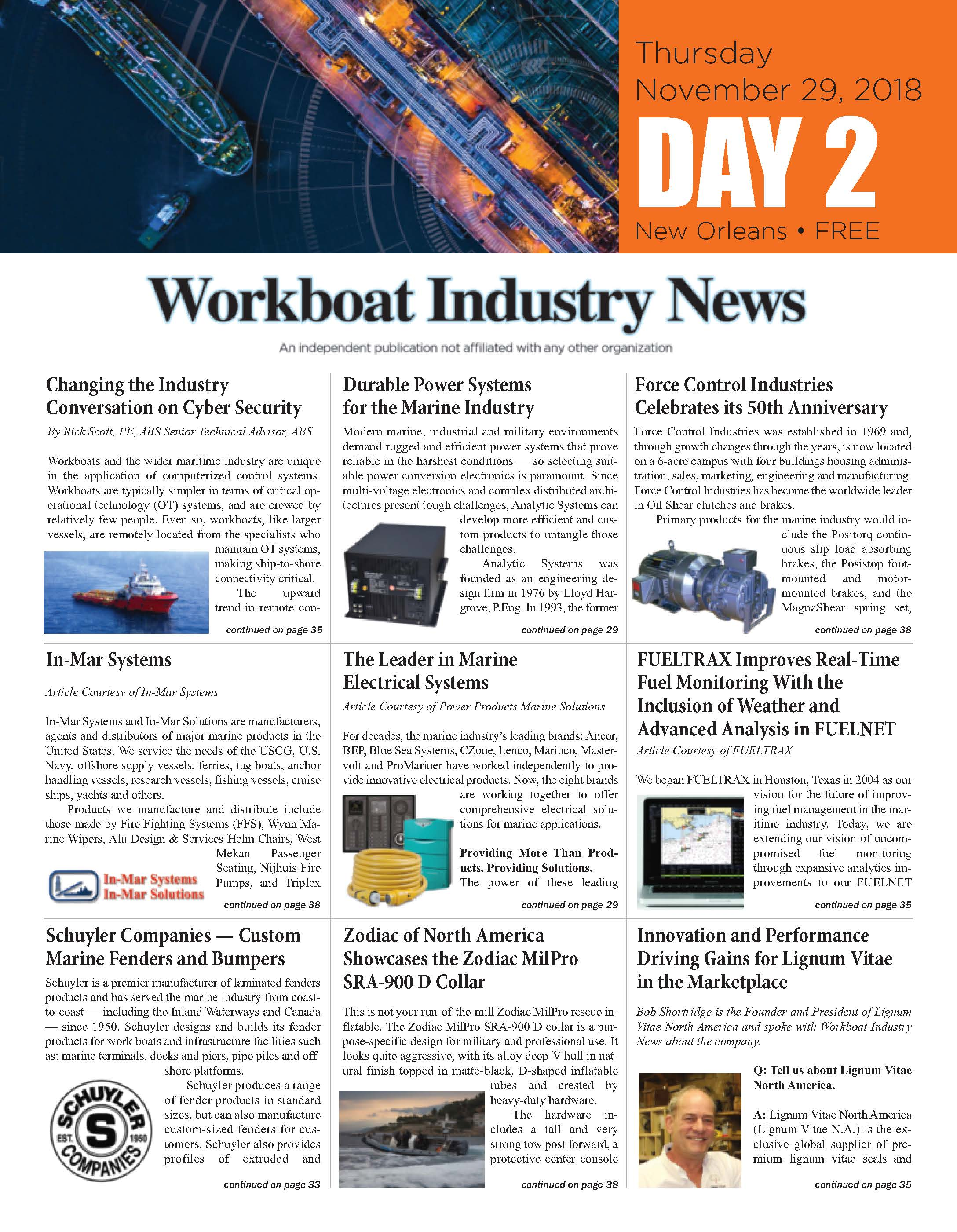 WorkBoat Industry News