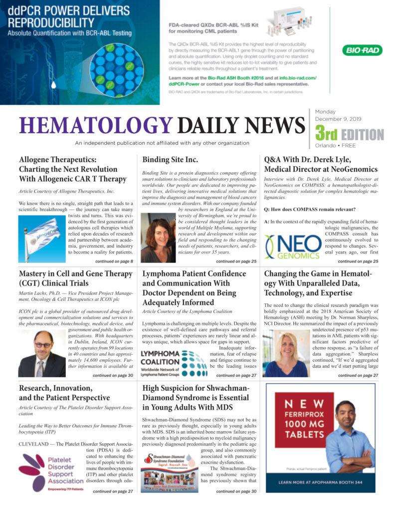 Hematology Daily News