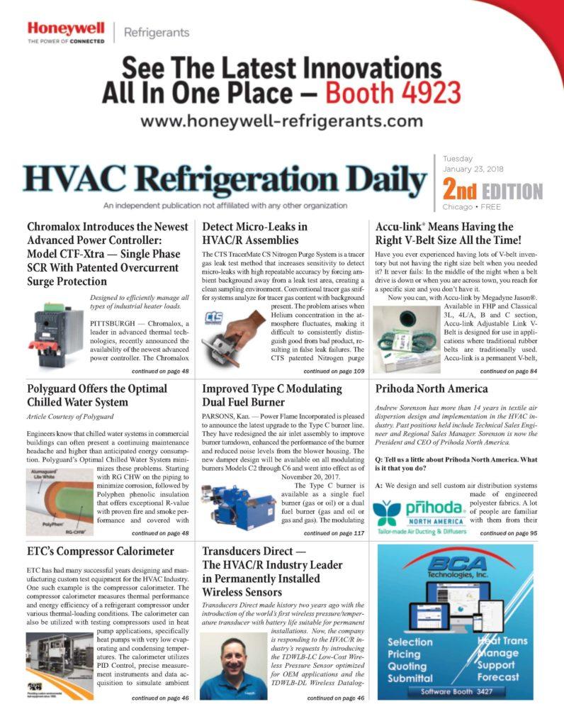 HVAC Refrigeration Daily