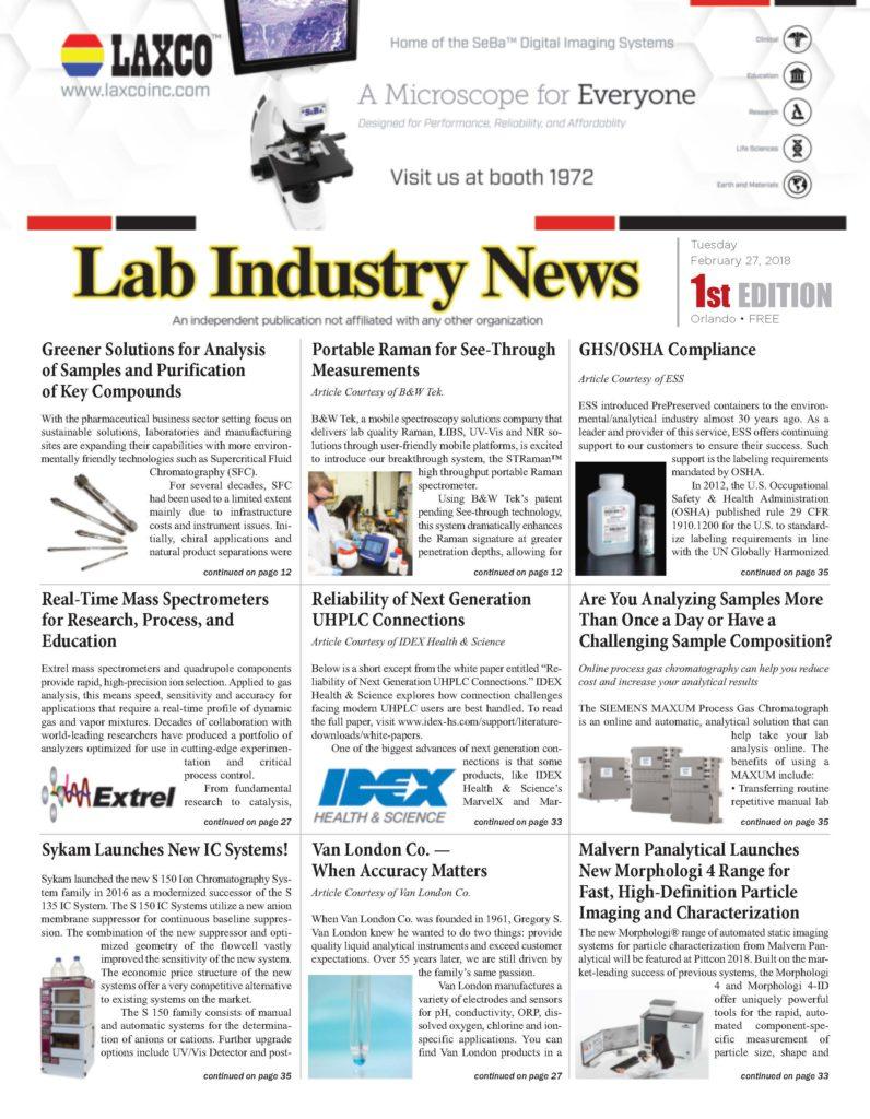 Lab Industry News