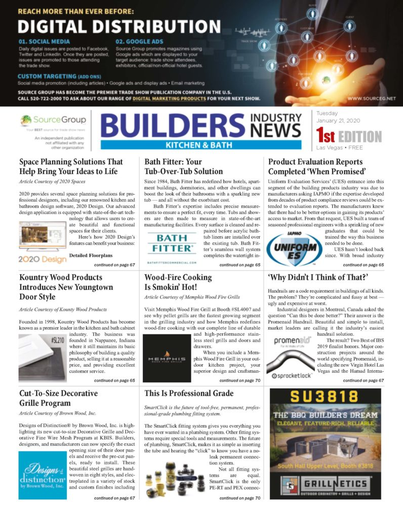 builders Industry News