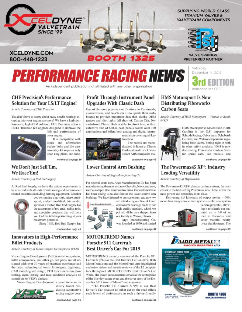Performance Racing News