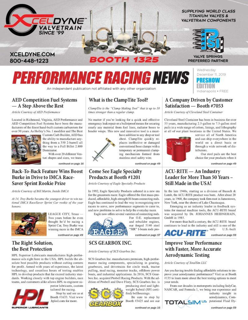 Performance Racing News