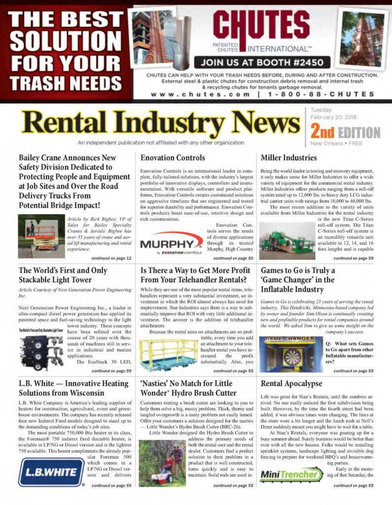 Rental Industry News