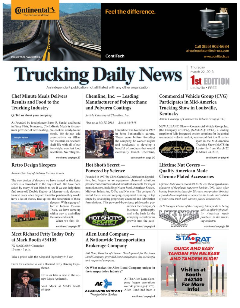 Trucking Daily News