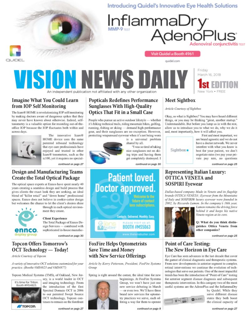 Vision News Daily 2018