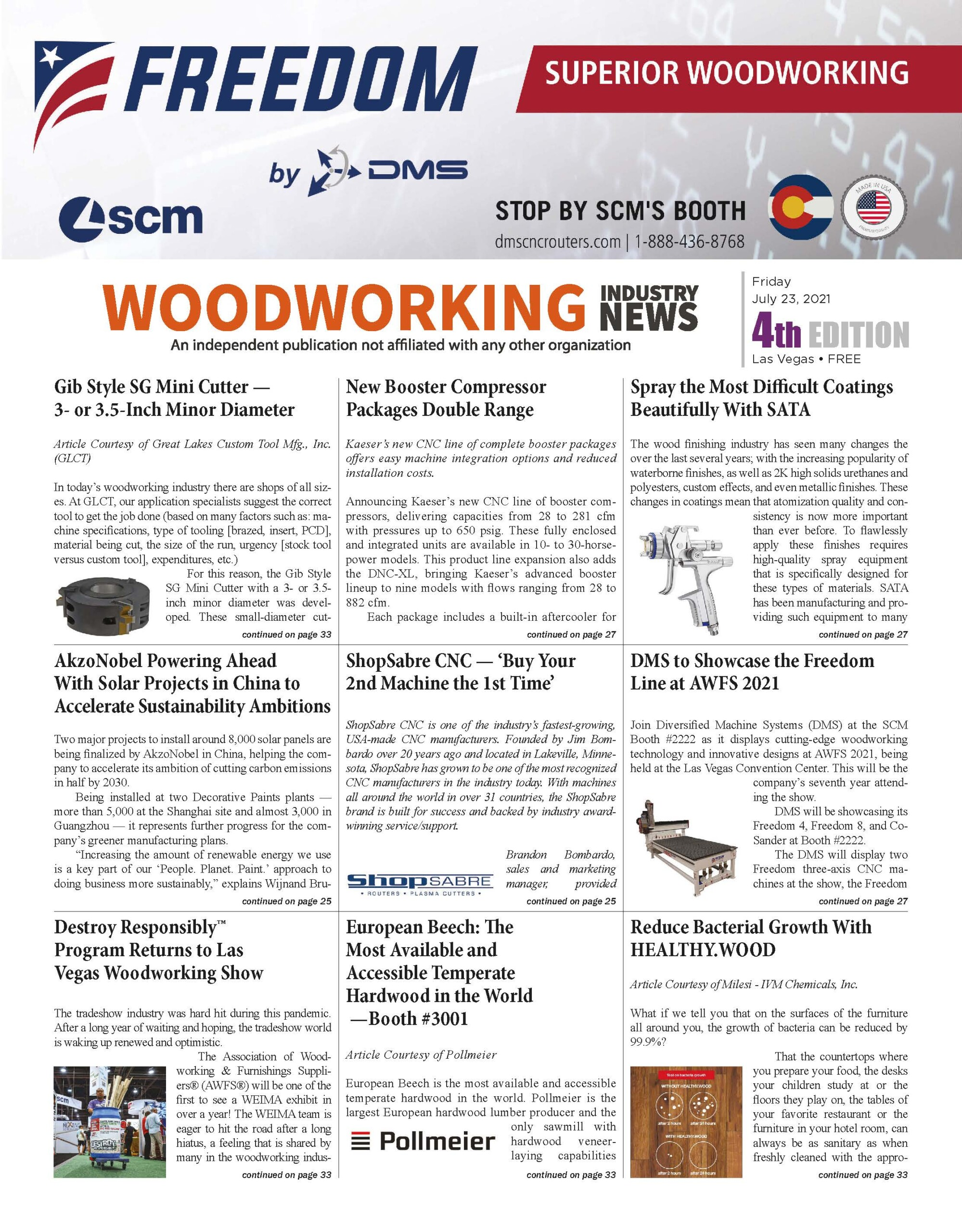 Woodworking Industry News
