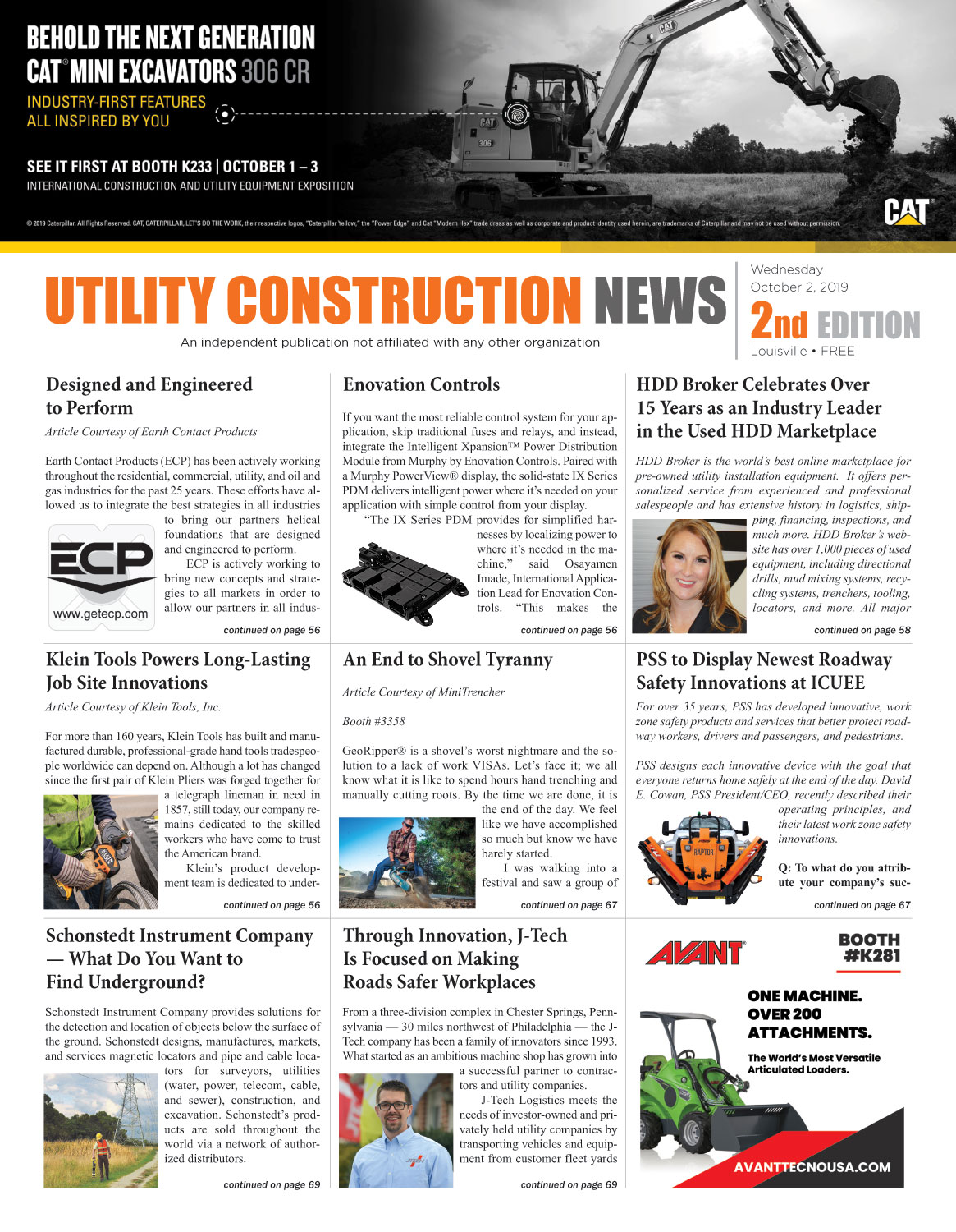 Utility Construction News
