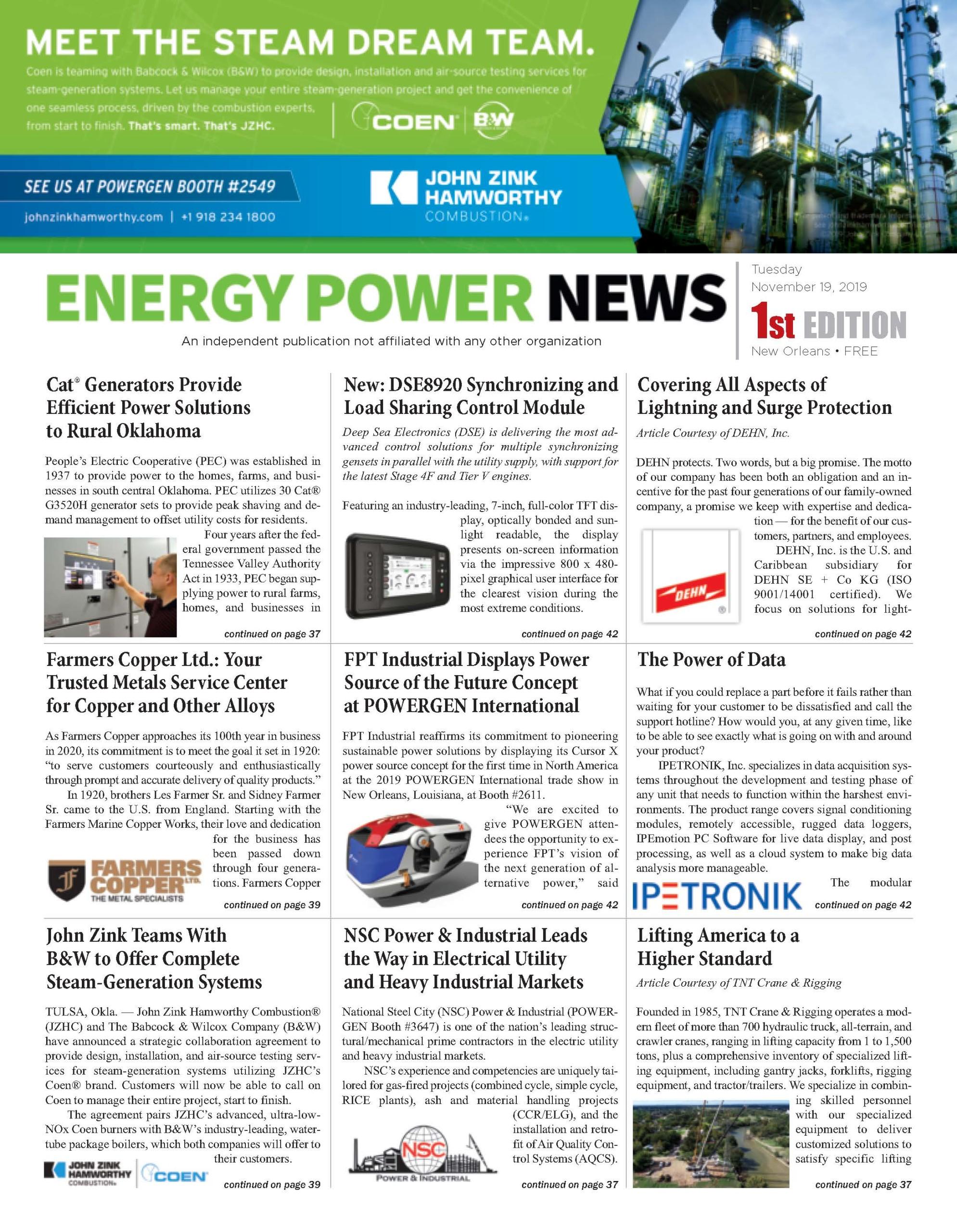 Energy Power News